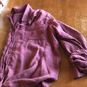 Universal Thread Maroon Long Sleeve Button up